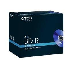 TDK BD-R 25GB Blu-ray registrabile (BD-R) -...
