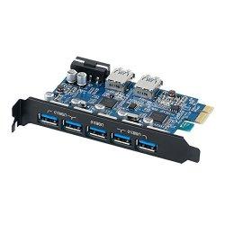 ORICO Scheda USB3.0 7 Porte PCI Express con...