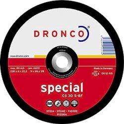 Dronco Discs AS 36 - Confezione da 10 dischi da...