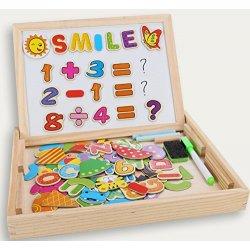 Puzzle Magnetico di Legno, COOLJOY Giocattolo di...