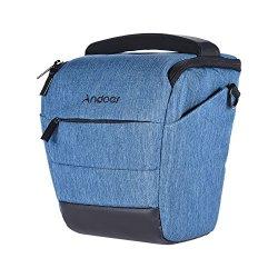 Andoer portatile DSLR borsa a tracolla elegante...