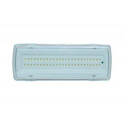 LAMPADA PLAFONIERA EMERGENZA 50 LED 4W 406LM...