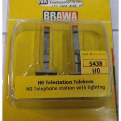 Brawa 5438 H0 Telestation Telekom [Giocattolo]