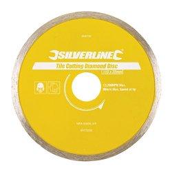 Silverline 868730 Dischi Diamantati per Taglia...