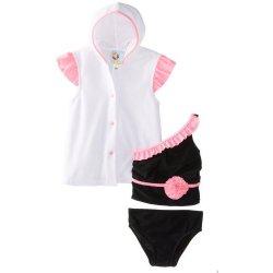 Buns Baby-Costume da bagno da bambino, 2 pezzi,...