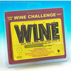 Wine-O-Meter Maze Buzzer Forfeits Drinking Game...