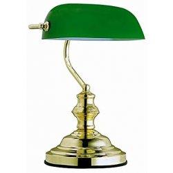Globo, Lampada da tavolo con paralume in vetro...