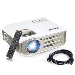 Proiettore,Abask Full HD LCD Videoproiettore 3100...