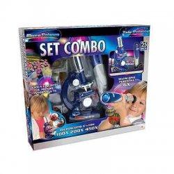 MICROSCOPIO MICRO-SCIENCE SET COMBO CON...