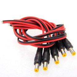 SODIAL(R) 5x DC Cavi Connettori Adattatori Spine...
