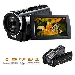 Videocamera Full HD 1080P 30FPS 24.0MP...