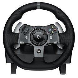 Logitech G920 Driving Force Volante da Corsa, per...