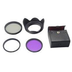 FiveSeasonStuff 58mm Obiettivo Paraluce + UV CPL...