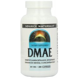 Source Naturals, DMAE, 351 mg, 200 Capsules by...