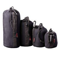 Custodia per lenti PhotoSEL 4-Pack, Set di sacco...