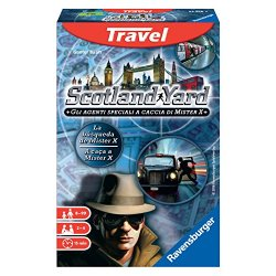 Ravensburger Italy 234165 - Scotland Yard Travel,...