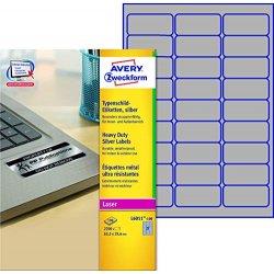 Avery L6011-100 Etichette Ultra Resistenti...