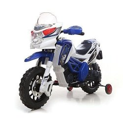 MOTO ELETTRICA PER BAMBINI ENDURO SUPER CROSS 12V...