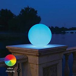 LED Multi -Colour Sphere Weather Proof Garden...