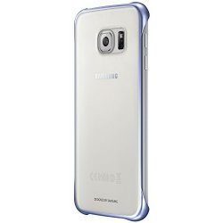 Samsung Custodia Clear Cover per Galaxy S6, Nero