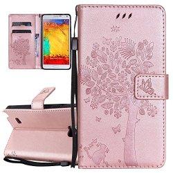 Custodia Galaxy Note 4, ISAKEN Flip Cover per...