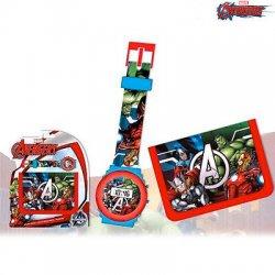 Set Avengers Portafoglio e Orologio Digitale...