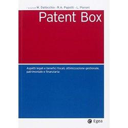 Patent box. Aspetti legali e benefici fiscali,...