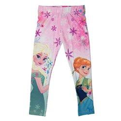 Frozen-Leggings per bambina ufficiale 3-4, 5-6,,...