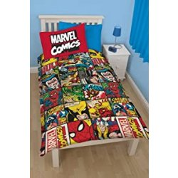 Marvel Comics Duvet Set Reversible Defenders 135...