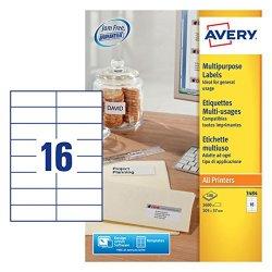 Avery Dennison 3484-Etichette multifunzione, con...