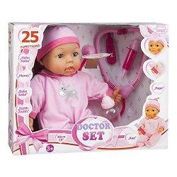 Bayer Design 93877 - Medico Set Bambola con...