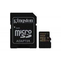 Kingston Gold SDCG/16GB MicroSD UHS-I, Speed...
