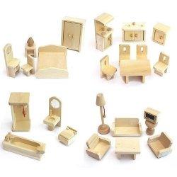 2222 Freda - Set di mobiletti in legno, adatto...