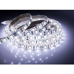 quntis Impermeabile LED Band 5m Bianco freddo...