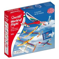 Quercetti 3599 - World of Flight, 5 Modelli