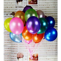 Aiernuo 100 Pcs Palloncini Colorati Gonfiabili in...