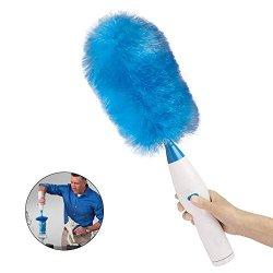 Polveri monouso piuma anti-stati Piumini da spolvero,microfibra spolverino soffice flessibile facile da assorbire la polvere