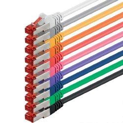 2m - 10 colori - 10 pezzi - Rete Cavi Cat6 |...
