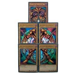 Yu-Gi-Oh!-Exodia il Forbidden One-5 Set completi