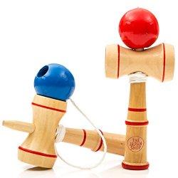 Il Giappone negozio Pocket Kendama in legno Mini...