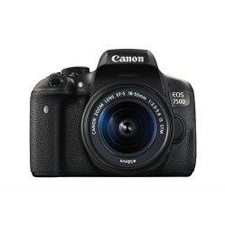 Canon EOS 750D Fotocamera Reflex Digitale, 24...