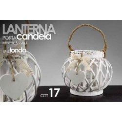 Lanterna portacandela cm17 wedding matrimoni...