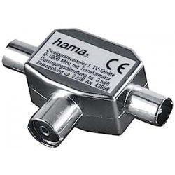 HAMA Distributore Antenna F/2 M in Metallo,...