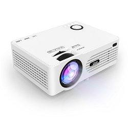 Proiettore LCD QKK da 2200 Lumen, Mini...