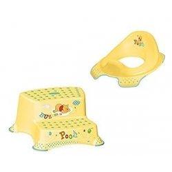 Set Z Winnie Pooh giallo (2 pezzi) base WC +...