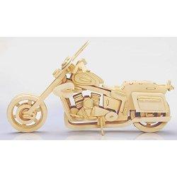 3D Puzzle di Legno Motociclo, Woodcraft...