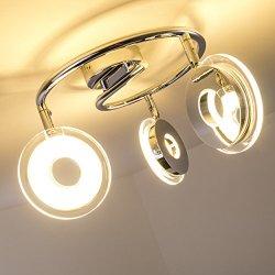 Plafoniera con 3 Faretti LED Prag - 3 x 4,5 Watt...