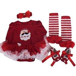Culater Natale Party Girl bambino Tutu Neonato...