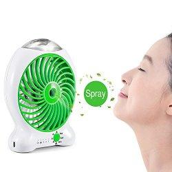 Magiclux Tech Portable USB Misting Fan, Mini Fan...