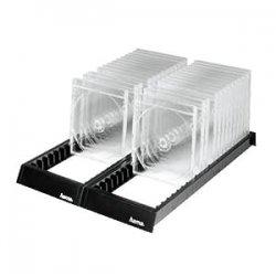 Hama CD Flipper Sistema di Archiviazione CD, Nero